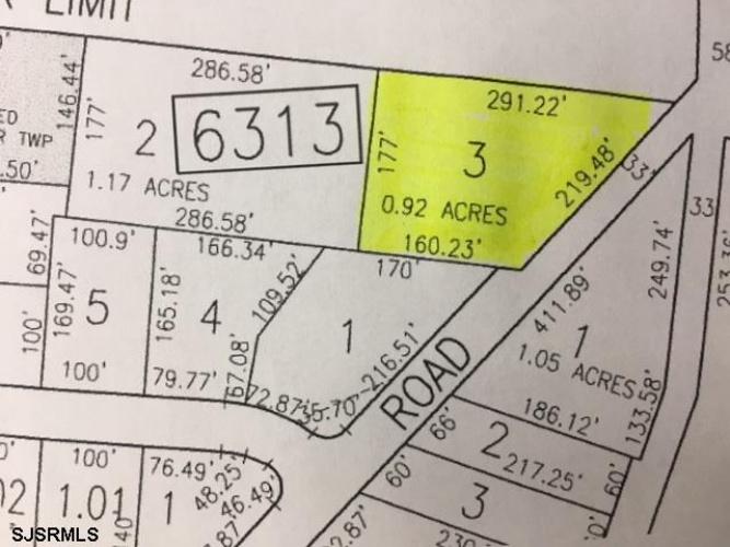 201 Poplar Ave, Egg Harbor Township, New Jersey 08234, ,Lots/land,For Sale,Poplar Ave,489670